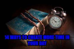 14 ways o save time